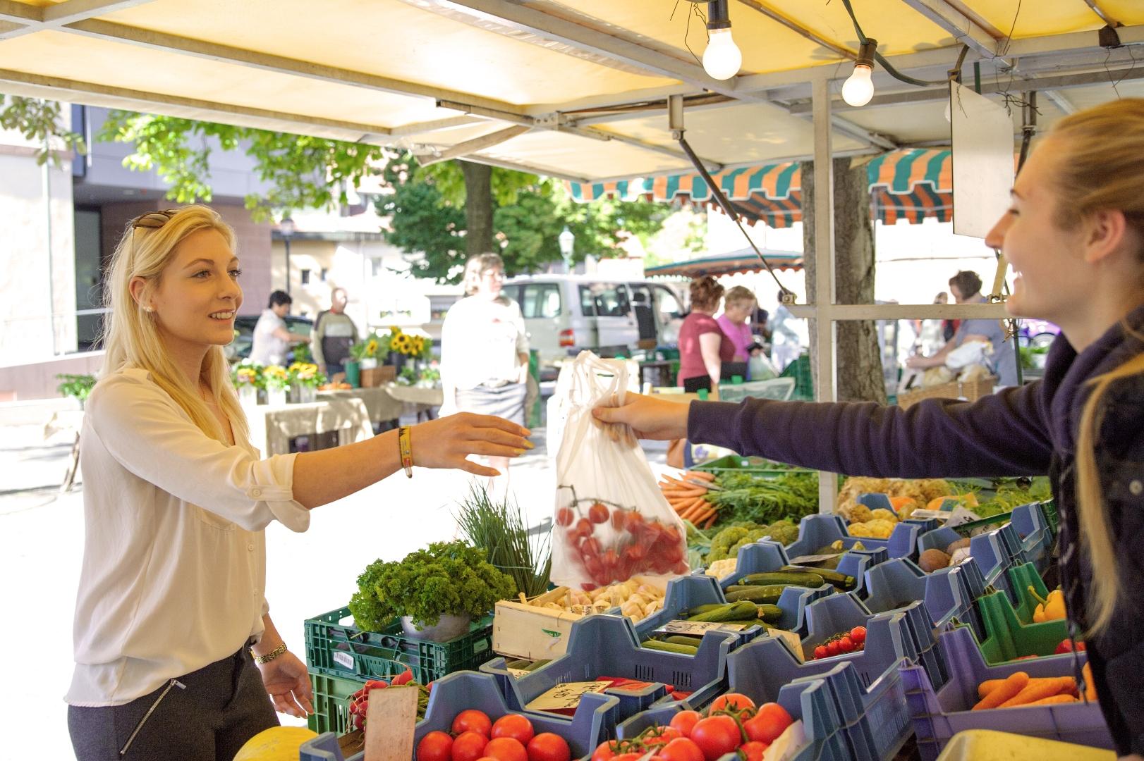 Wochenmarkt Bühl